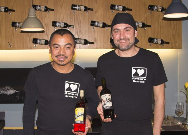 Lo staff di Amaro Braceria