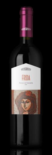 Bottiglia di vino Frida vino rosso di Toscana, in vendita presso Cantine Angeli