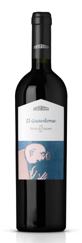 Bottiglia di vino rosso toscano Il Guardone, in vendita presso Cantine Angeli