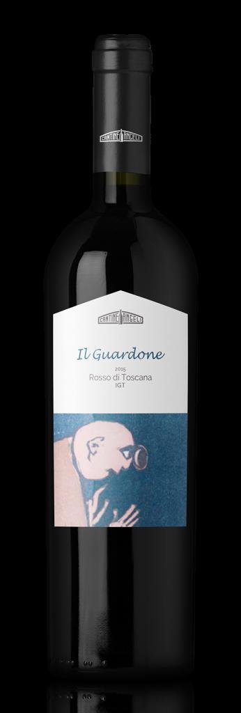 Il Guardone, Vino rosso toscano thumb