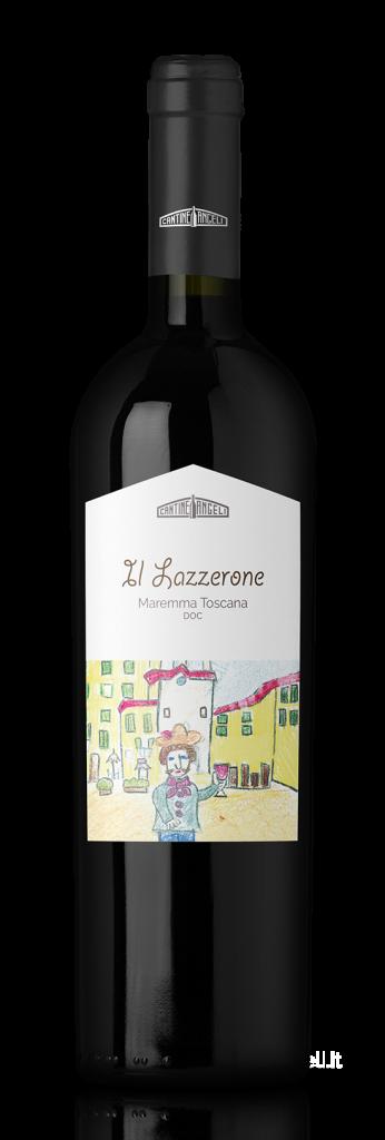 Lazzerone, Vino rosso D.O.C. Maremma Toscana thumb