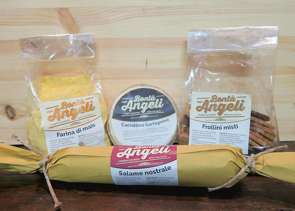 Nasce Bontà degli Angeli, la linea di prodotti local e bio selezionati da noi cover